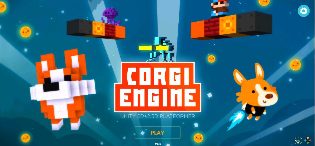 Corgi Platformer Engine - Game Asset reviews and Unity